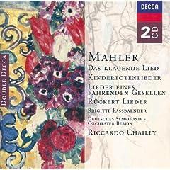 Mahler: Das klagende Lied; R�ckert-Lieder; Kindertotenlieder; Lieder eines fahrenden Gesellen etc. (2 CDs)