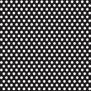 Black Polka Dot Wrapping Paper