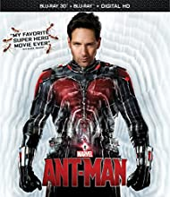 Ant-Man [3D Blu-ray + Blu-ray + DVD + Digital HD] (Bilingual)