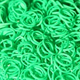 RayLineDo(TM) 600pcs Green Color LOOM RUBBER BANDS BRACELET Making