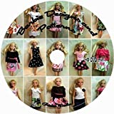 Make Your Own Barbie Doll Clothes: 750 Vintage Patterns & Tutorials D102