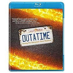 OUTATIME: Saving the DeLorean Time Machine BLU RAY [Blu-ray]