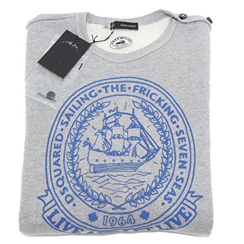 93689 felpa DSQUARED D2 maglia uomo sweatshirt men [XXL]