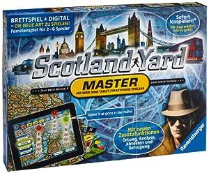 Ravensburger 26602 - Scotland Yard Master, Strategiespiel