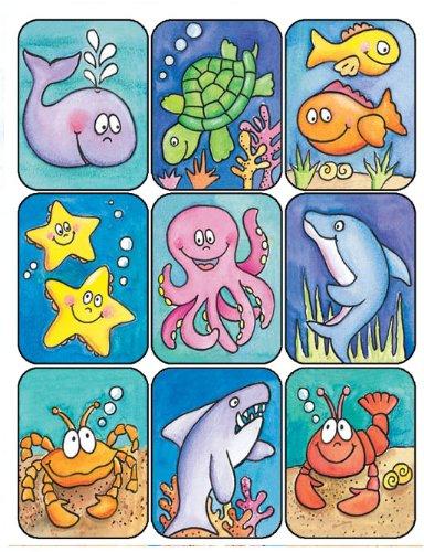 Eureka Marine Life Stickers