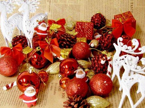 【MIXオーナメント2013スペシャルセット】まさに豪華絢爛!クリスマス/オーナメント/飾り/ツリー/サンタクロース/X'mas/クリスマス飾り