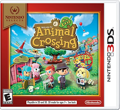 Nintendo Selects: Animal Crossing: New Leaf - Nintendo 3DS (My Life Portable Console compare prices)