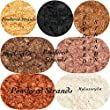 Lot of 7 Sample Micas One Gram Powder Each Sparkling Shimmer Glittering Micas Soap Making Cosmetic Pigments Gold Black Bronze Brown Mocha Copper Ivory White Colorants