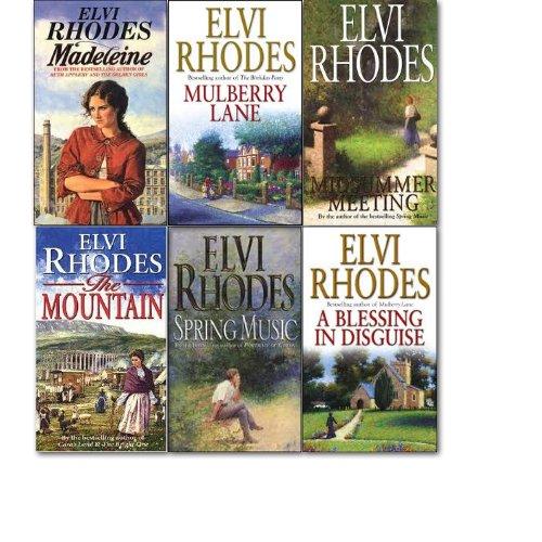 Elvi Rhodes Collection 6 Books Set Mulberry Lane Madeceine