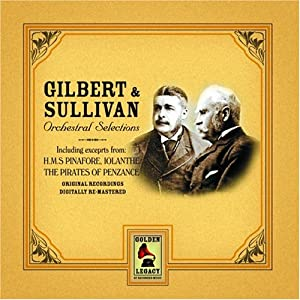 Gilbert & Sullivan : Orchestral Selections by Imp