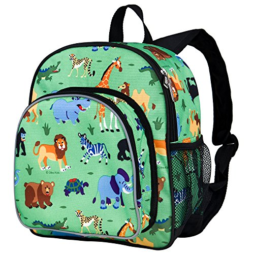 Wildkin Olive Kids Wild Animals Small Pack 'n Snack