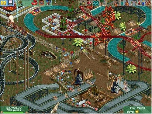 Roller Coaster Tycoon 2 - Low Spec Gaming