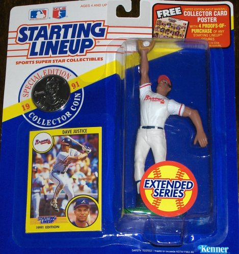 Dave Justice 1991 Extended Series Starting Lineup