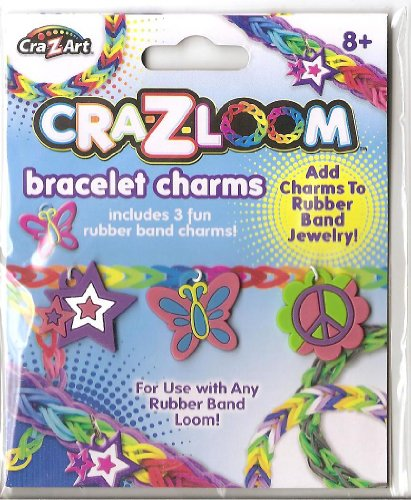 Cra-Z-Loom Clip On Charms (Rubber Styles Vary) - 1