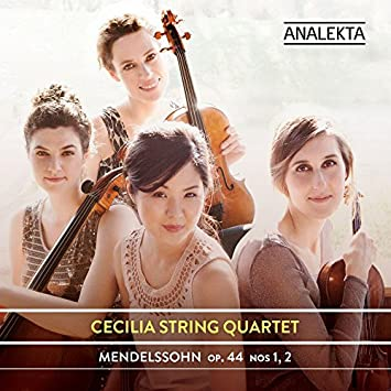 Cecilia String Quartet – Mendelssohn, Op. 44, Nos 1, 2