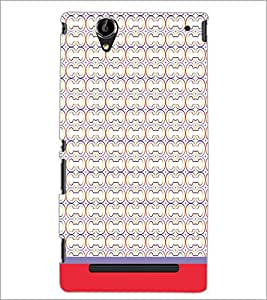 PrintDhaba Pattern D-1827 Back Case Cover for SONY XPERIA T2 ULTRA (Multi-Coloured)