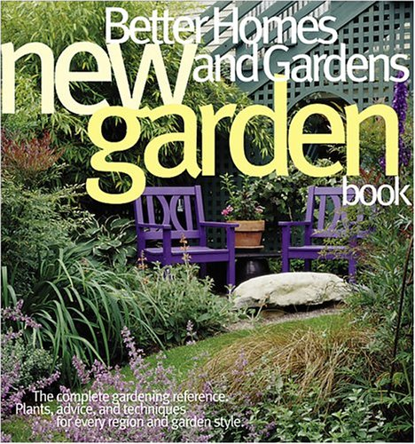 New Garden Book, Better Homes and Gardens