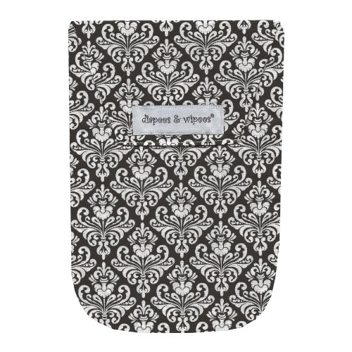 diapees & wipees Diaper Pouch - Chic Damask