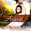 August: Prairie Grooms, Book 1 Audiobook by Kit Morgan Narrated by Michael Rahhal