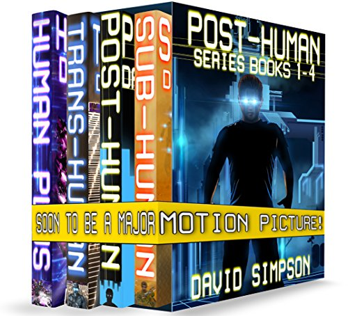Post-Human Series Books 1-4 by David Simpson ebook deal