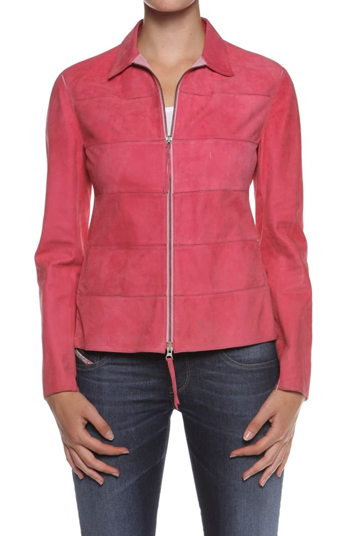Cristiano di Thiene Collezione Damen Jacke Lederjacke BETA, Farbe: Pink online bestellen