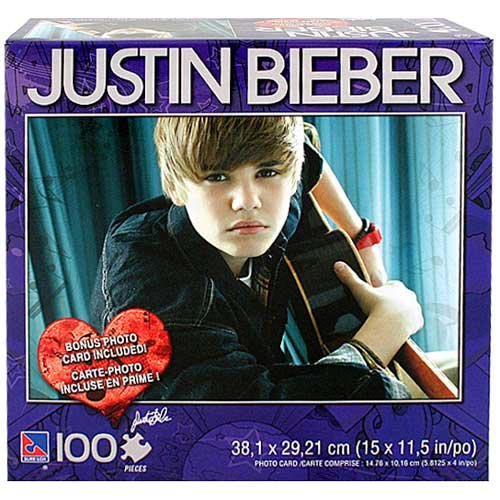 Picture Of Bravado Justin Bieber Puzzle [100 Pieces]   Picture C  (B004CMMGCW) Nice Look