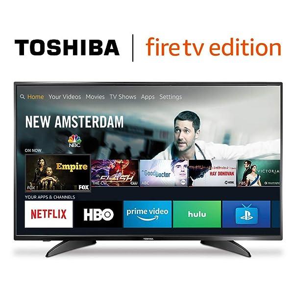 Toshiba 43LF621U19 43-inch 4K Ultra HD Smart LED TV HDR - Fire TV Edition (Tamaño: 43 inches)
