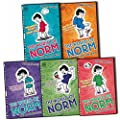 Jonathan Meres The World of Norm 5 Books Collection Pack Set (May Contain Nuts, May Cause Irritation, May Produce Gas, May Require Batteries, May Be Contagious)
