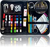 SEWING KIT - THE MOST EXPANSIVE & HIGHEST QUALITY KIT - Includes 40 Spools of Thread, All You Need, & More! Perfect as a Beginner Sewing Kit, Travel Sewing Kit, Campers, Emergency Sewing Kit & More!