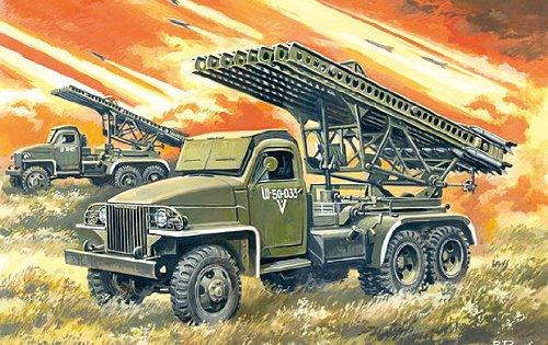 1/35 カチューシャ BM-13-16N 並列ロケット砲車