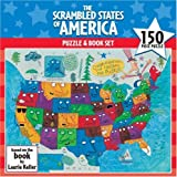 The Scrambled States of America Puzzle and Book Set