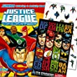 Justice League Coloring and Activity Book with Stickers
