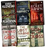 Chris Kuzneski Collection 6 Books Set Pack RRP: £44.44 (Sword of God, The Secret Crown, Sign of the Cross, The Plantation, The Prophecy, The Lost Throne) Chris Kuzneski