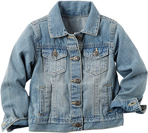 Carters Little Girls Denim Jacket 6X Blue
