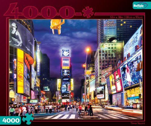 61AEbdcaqoL Cheap  Times Square 4000 Pieces Jigsaw Puzzle
