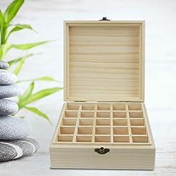 Wood Essential Oils Box
