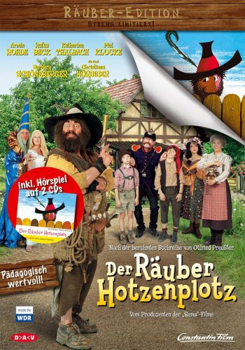 Der Räuber Hotzenplotz (+ Hörbuch) [2 DVDs]