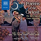 Poems of the Orient Hörbuch von  Rumi,  Sa'di,  Hafiz Gesprochen von: David Timson, Madhav Sharma