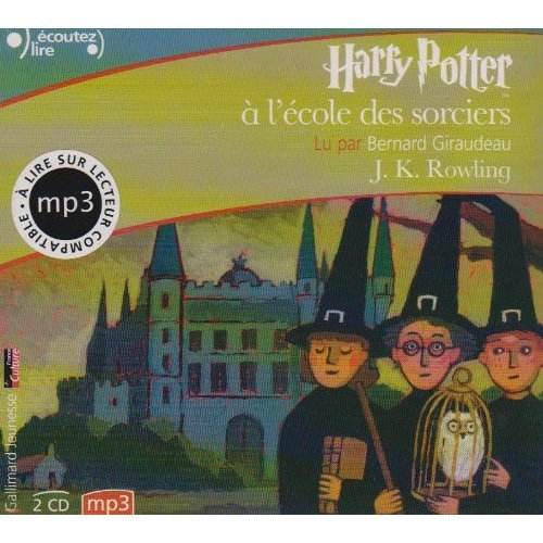 Harry Potter a l'Ecole des Sorciers (French Audio CD (2 MP3 Compact Discs) Edition of