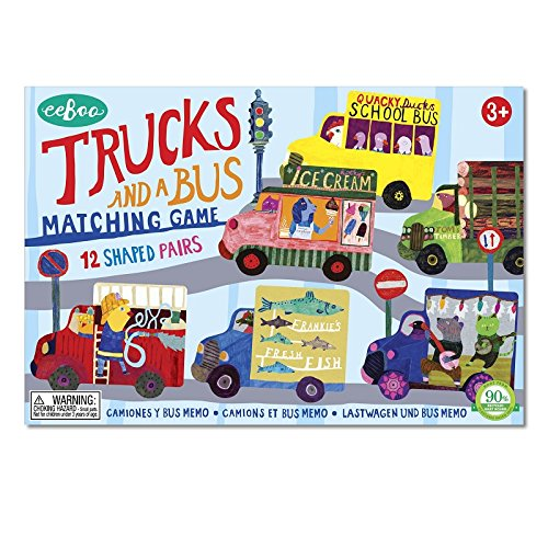 Trucks and a Bus Matching Game (Ice Cream Matching Game compare prices)