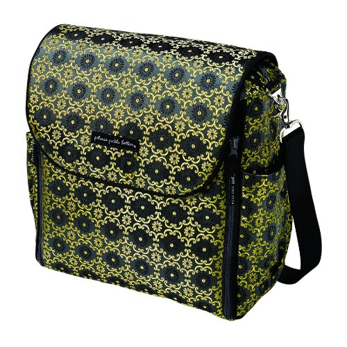 *New Spring 2011* Petunia Pickle Bottom Boxy Backpack - Yellow Aster Roll front-874899