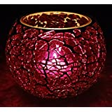 Decorative Table Decor Candle Holder Glass Tea Light Holder 3 Inches