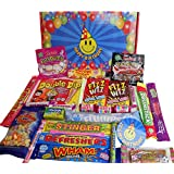 Smiley :) Happy BIRTHDAY Selection Box of Tasty sweets Plus 'It's my Birthday!' Sticker - (also available is the 'I LOVE YOU!' Teddy Bear Sweets Box ideal for Anniversary or a special birthday gift!)