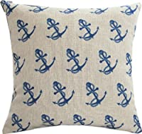 "Yamimi Mediterranean sailor Linen Cloth Pillow Cover Cushion Case 18"" from Yamimi"