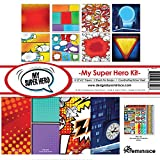 Reminisce My Super Hero Collection Kit (Color: Multicolor, Tamaño: 12