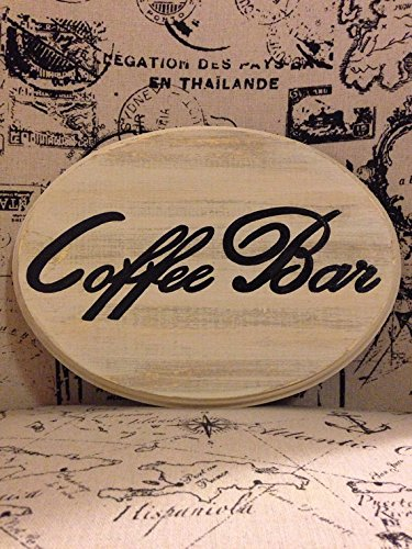 Adorable Coffee Bar Sign (Large)(Cream) (Bar Nine Coffee compare prices)