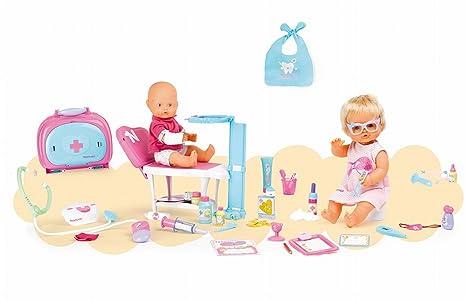 Famosa - 700008675 - Coffret de 2 poupées - Nenuco la Visite Médicale