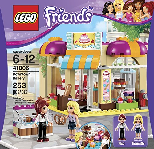 Building Block LEGO Friends (253pcs) Downtown Bakery Toy for Kids Figures Toys (Friends Lego Downtown Bakery compare prices)