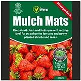 Vitax 10 Biodegradeable Mulch Mats For Strawberry Plant Lettuce