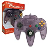 Old Skool Classic Wired Controller Joystick for Nintendo 64 N64 Game System - Atomic Purple (Color: Atomic PurplePurple)